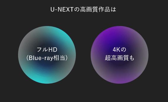 u-next画質
