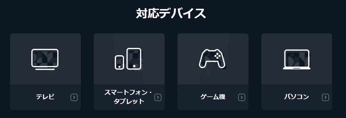 u-nextデバイス